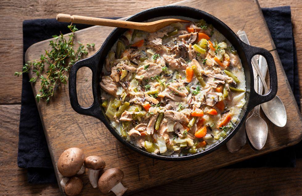 Preparation de plat savoureux avec une cocotte traditionnelle sur une-cocotte-en-fonte.fr